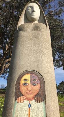 Bufano sculpture