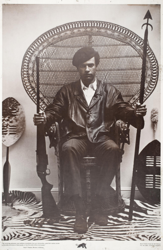 Huey in the wicker chair