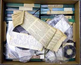 Yuen unprocessed audiotapes